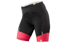 Mavic Athena Vrouwen Fietsshorts Dames roze/zwart